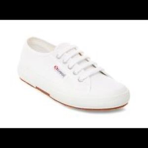 NEW women's SuperGa white sneakers new in box
